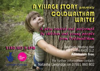 Playwriting and Acting project led by Natasha Langridge